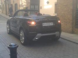 Spotted Range Rover Cabriolet Concept in London