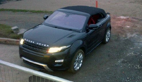 Spotted Second Live Photo Range Rover Evoque Convertible Concept