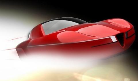 Teaser 2012 Carrozzeria Touring Superleggera Disco Volante