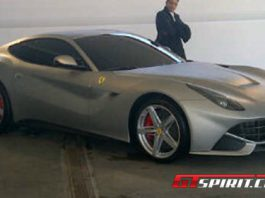 This is The 2013 Ferrari F620 GT
