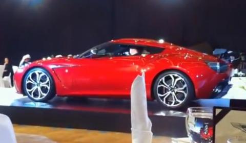 Video Aston Martin V12 Zagato Live at Launch Event in Kuwait