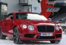 Video Bentley Continental V8 Makes Flying Debut in Munich