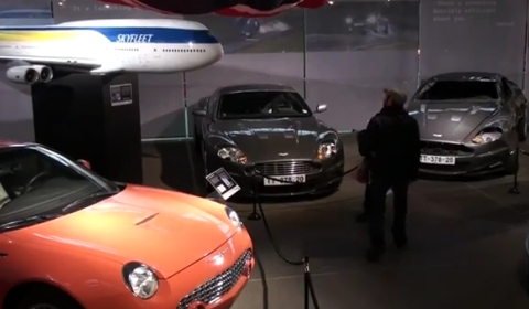 Video Bond in Motion Exhibition at Beaulieu Motor Museum