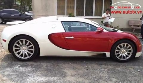 Video Bugatti Veyron Spotted in Vietnam