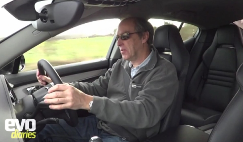Video EVO's Harry Metcalfe Reviews Porsche Panamera Diesel