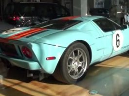Video Ford GT Gulf Heritage Edition