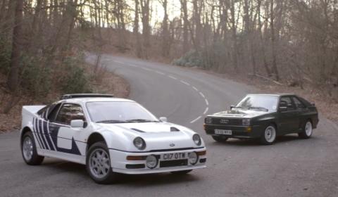 Video Group B Worship: Ford RS200 vs Audi Sport Quattro