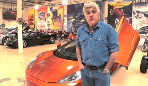 Video Jay Leno with his McLaren MP4-12C and McLaren F1