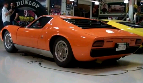 video jay lenos lamborghini collection Video: Jay Leno's Lamborghini Collection