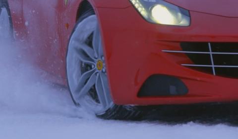 Video Markku Alen tests Ferrari FF in Northern Sweden