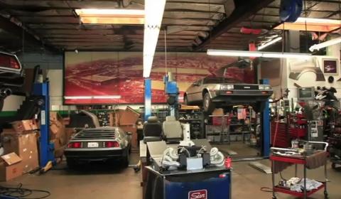 Video Matt Farah Drives The World's Fastest DeLorean
