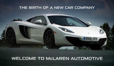 Video McLaren Automotive's Vision