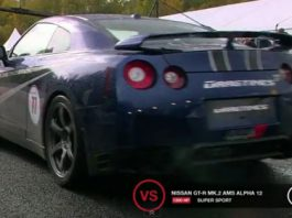 Video Nissan GT-R AMS Alpha 12 Hits 347km/h on One Mile