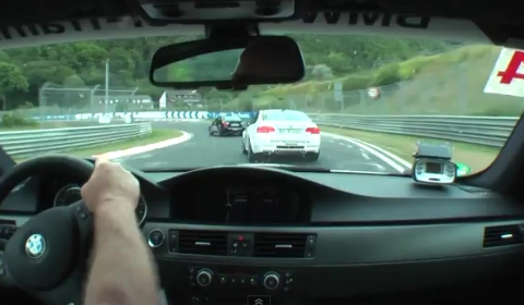 Video One Lap of the Nurburgring in BMW E92 M3