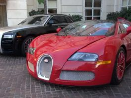 Video One-off Bugatti Veyron Grand Sport Red Edition