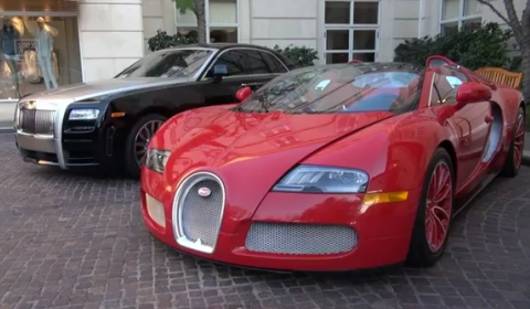 Video One Off Bugatti Veyron Grand Sport Red Edition