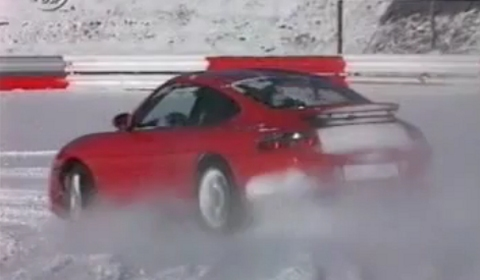 Video Porsche 911 Carrera Winter Lap at Nurburgring