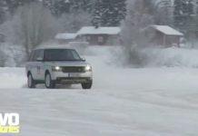 Video Range Rover Goes Drifting