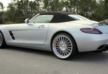 Video Renntech Mercedes-Benz SLS AMG Roadster