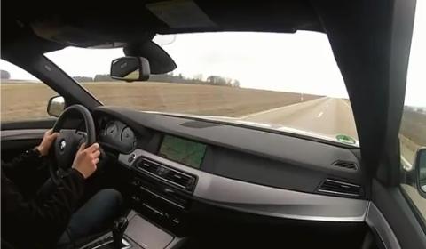 Video Sport Auto Drives BMW M550d xDrive Sedan