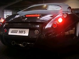 Video Wiesmann Roadster MF5 with Lector Exhaust