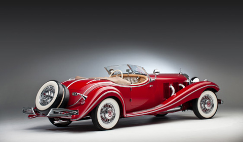 1935 Mercedes-Benz 500 K Roadster by Sindelfingen