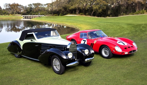 1938 Bugatti Type 57 and 1962 Ferrari 330 LM Best in Show at 17th Amelia Island Concours d'Elegance 01