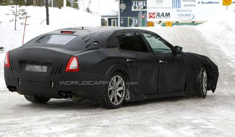 Spyshots 2014 Maserati Quattroporte