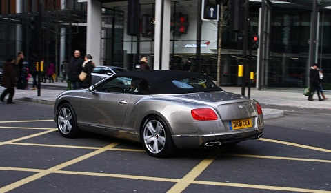 Bentley Continental GTC V8 in London