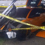 Car Crash Lamborghini Murcielago LP670-4 SV in Indonesia