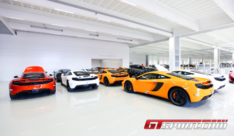 Factory Visit McLaren Headquarters McLaren Production Centre 01