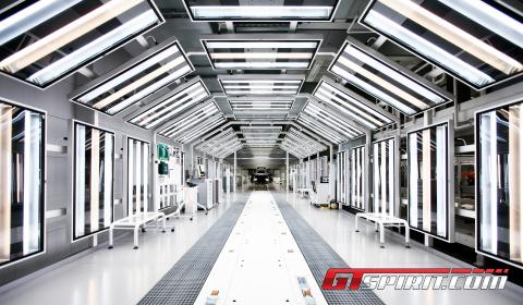 Factory Visit McLaren Headquarters McLaren Production Centre 02