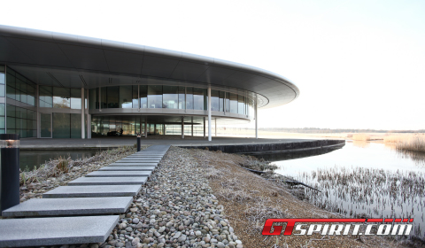 Factory Visit McLaren Headquarters McLaren Production Centre 03