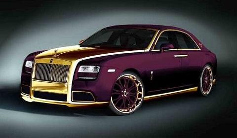 Fenice Milano 'Paris Purple' Rolls-Royce Ghost