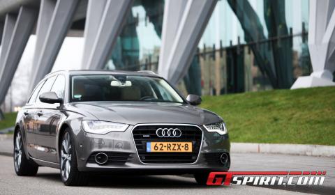 First Drive 2012 Audi A6 3.0 TDi Avant 01