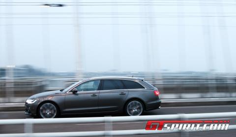 First Drive 2012 Audi A6 3.0 TDi Avant 03
