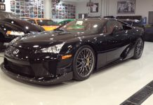 First US and Bahrain Lexus LFA Nurburgring Edition