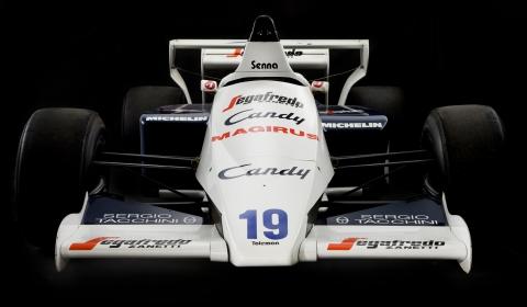 For Sale Ayrton Senna's Toleman TG184-2 Formula One Car 01