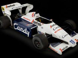 For Sale Ayrton Senna's Toleman TG184-2 Formula One Car