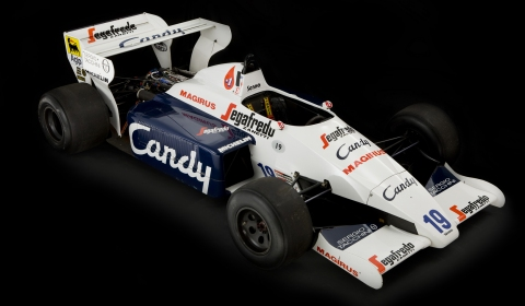 For Sale Ayrton Senna's Toleman TG184-2 Formula One Car