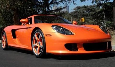 For Sale Pearl Orange 2005 Porsche Carrera GT