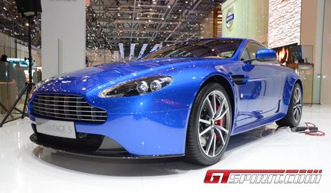Geneva 2012 Aston Martin V8 Vantage S