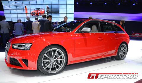 Geneva 2012 Audi RS4 Avant