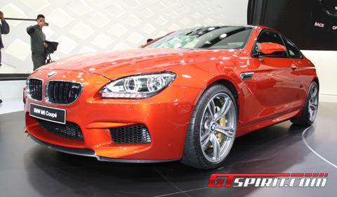 Geneva 2012 BMW M6 Coupe