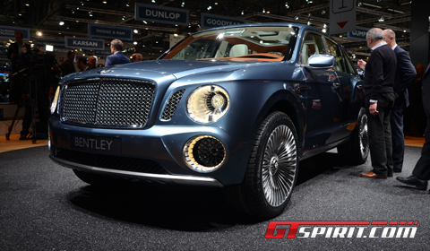 Bentley Veyron on We Took A Look At Bentley S Stand At The Geneva Motor Show 2012 Today