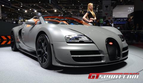 Geneva 2012 Bugatti Veyron Grand Sport Vitesse
