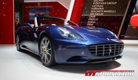 Geneva 2012 Ferrari California Lightweight with Handling Special Package