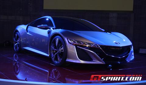 Geneva 2012 Honda NSX Hybrid Concept
