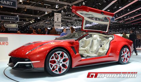 Geneva 2012 Italdesign Giugiaro Brivido Concept