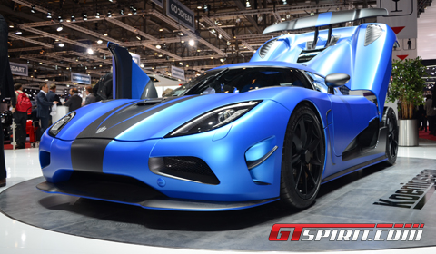 Geneva 2012 Koenigsegg 2013 Agera R Second Generation